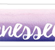 Tennessee - purple  Sticker