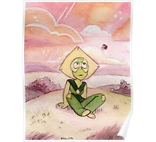 Peace and Love on the Planet Earth - Steven Universe Peridot Poster