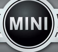 mini cooper emblem Sticker