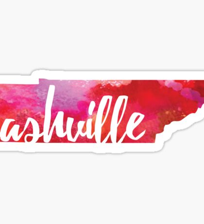 Nashville, Tennessee Sticker