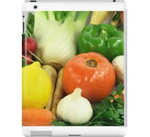 Vegetables, Fruits, Ingradients and Spices  iPad Case/Skin