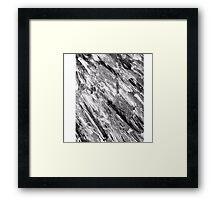Black Marble (OG Painting) Framed Print
