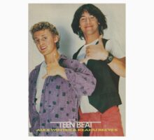 Bill and Ted Teen Beat cover Kids Tee