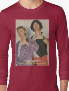 Bill and Ted Teen Beat cover Long Sleeve T-Shirt