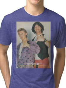 Bill and Ted Teen Beat cover Tri-blend T-Shirt