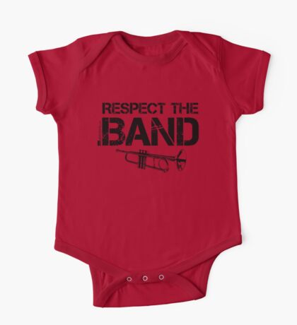 Respect The Band - Trumpet (Black Lettering) One Piece - Short Sleeve