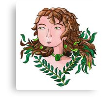 Wild woman of the trees  Canvas Print
