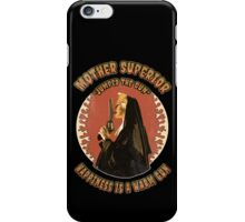 Mother Superior Vintage iPhone Case/Skin