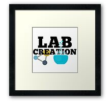Lab Creation Science Themed Framed Print