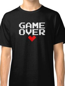 [Black] Game Over My Love Classic T-Shirt