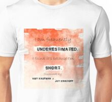 Illuminae - Underestimated Unisex T-Shirt