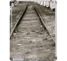 Tracks to Nowhere iPad Case/Skin
