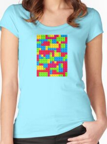 Lego Tile Tess Women's Fitted Scoop T-Shirt