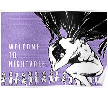 Welcome to Nightvale Angel Poster
