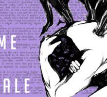 Welcome to Nightvale Angel Sticker