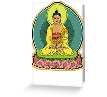BUDDHA'S BLESSINGS Greeting Card