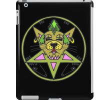PUNK KITTY BLK iPad Case/Skin