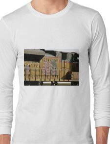 Patriotic Train Long Sleeve T-Shirt