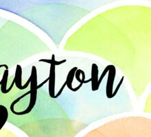 Dayton Sticker