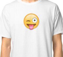 Tongue Out Emoji Classic T-Shirt