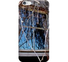 Reflecting on Younger Days iPhone Case/Skin