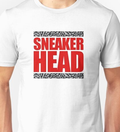 Sneakerhead - Fire Red Cement Unisex T-Shirt