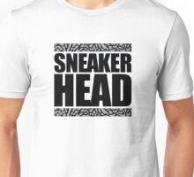 Sneakerhead -Black Out Cement Unisex T-Shirt