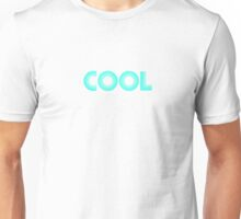 Cool Blue Neon Unisex T-Shirt
