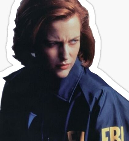 Scully Sticker