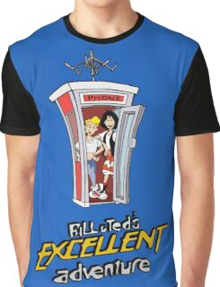 Bill and Ted's Excellent Adventure Graphic T-Shirt