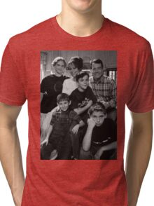 Malcolm in the Middle B&W photo Tri-blend T-Shirt