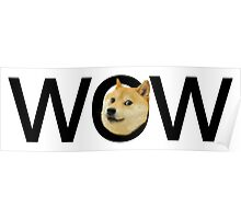 WOW Doge Poster