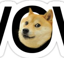 WOW Doge Sticker