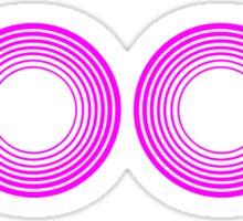 Cool Pink Neon Sticker