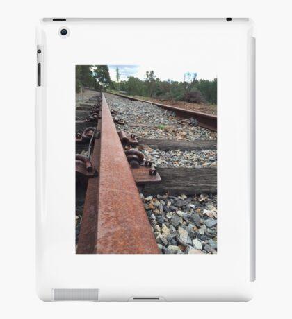 Abandoned train tracks collie Western Australia  iPad Case/Skin