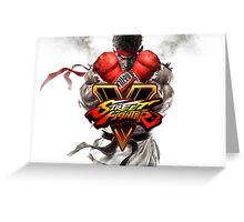street fighter 5 Greeting Card