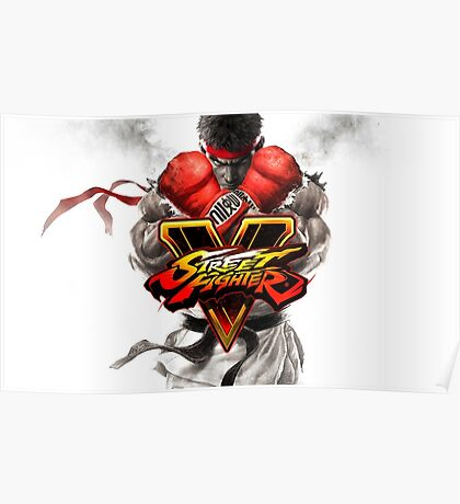 street fighter 5 Poster