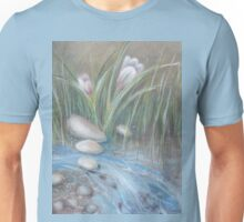 flowers in the creek Unisex T-Shirt