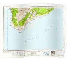 USGS TOPO Map Hawaii HI Hawaii South 349923 1959 250000 Poster
