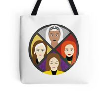 Mutant Heroines Tote Bag