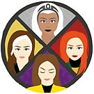 Mutant Heroines by oneskillwonder