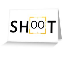 Person of Interest - Shoot Greeting Card