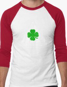 Quadrifoglio Vintage Graphic  Men's Baseball ¾ T-Shirt