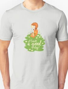 Cute foxes Unisex T-Shirt