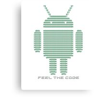 Android - Feel the Code - Design Canvas Print
