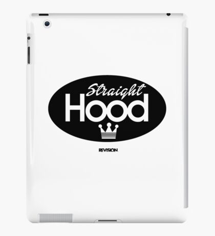 Straight Hood iPad Case/Skin