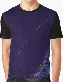 USGS TOPO Map Hawaii HI Waimea 349787 1952 24000 Inverted Graphic T-Shirt