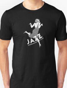 Swing Dance Sydney dancing woman b&w woman Unisex T-Shirt