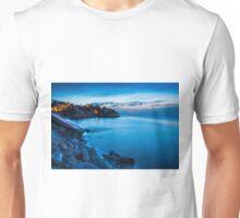 Cala d'Enmig during blue hour Unisex T-Shirt
