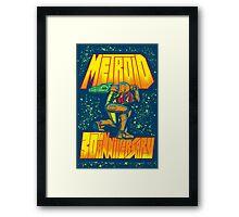 Metroid 30th Anniversary Framed Print